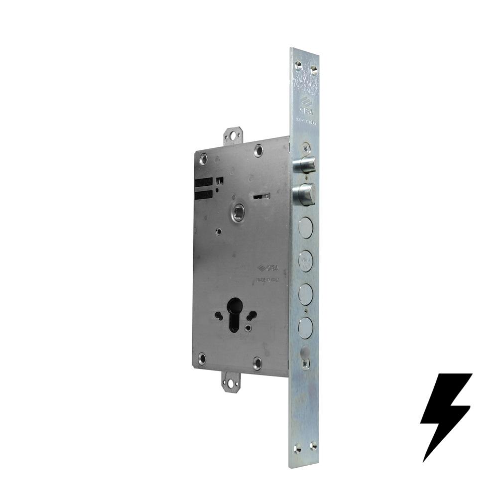 Cisa Serratura Elettrica Per Porta Blindata A Cilindro Di Bella